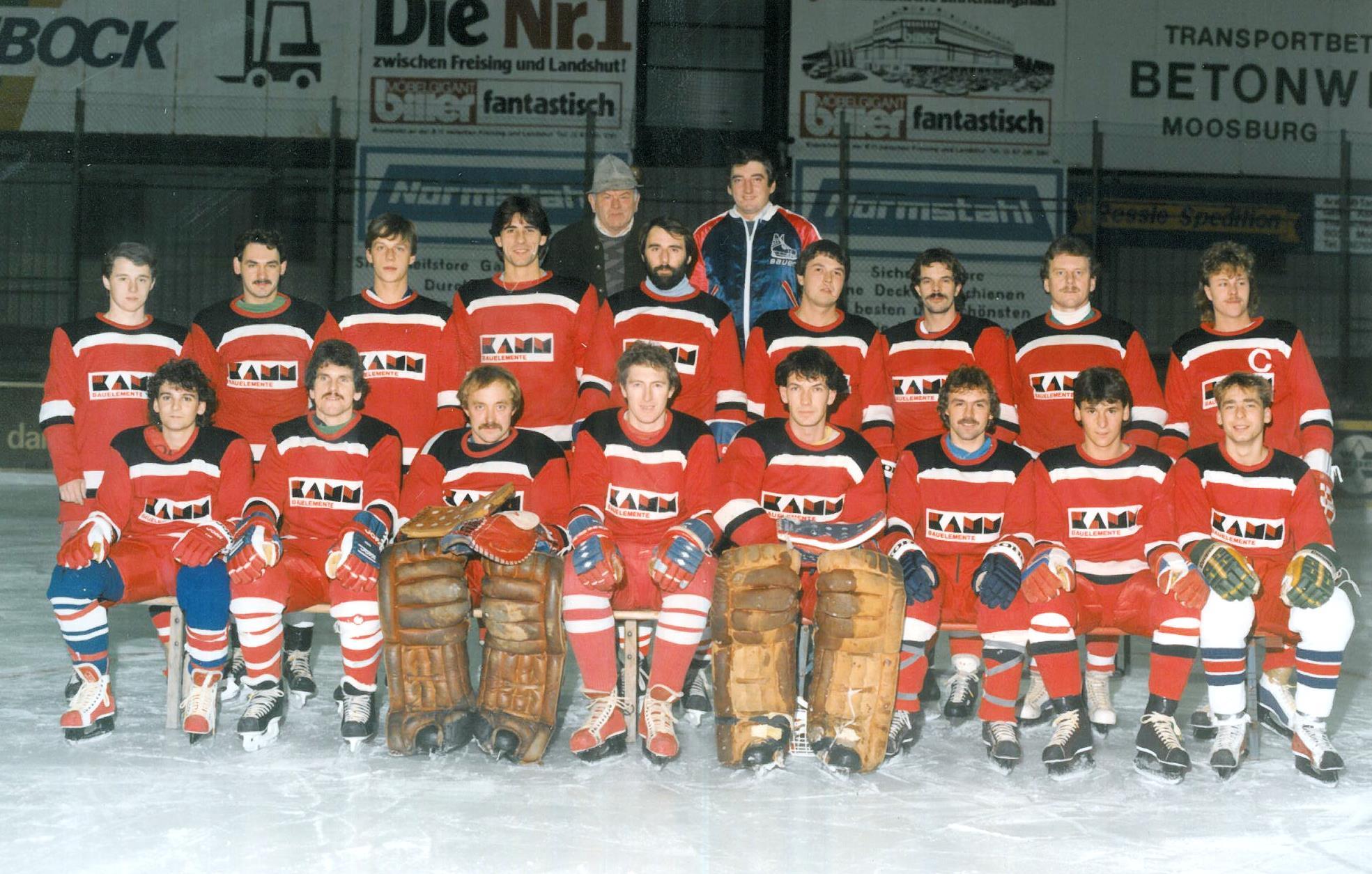 EV Aich Mannschaftsfoto 1986-87