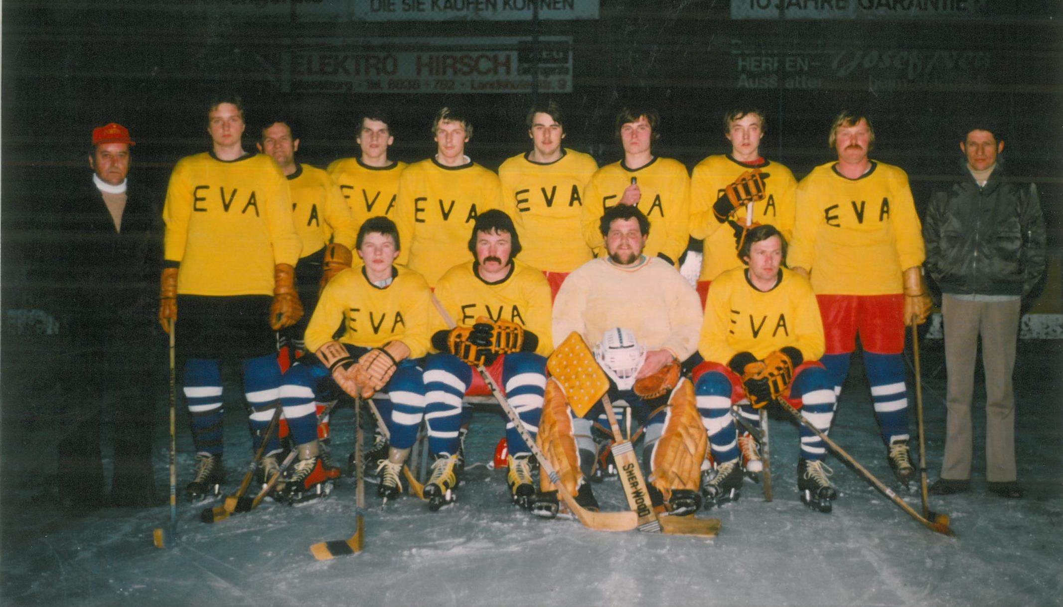 EV Aich Mannschaftsfoto 1976-77