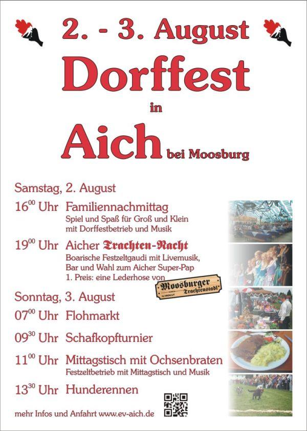 Programm Dorffest 2014